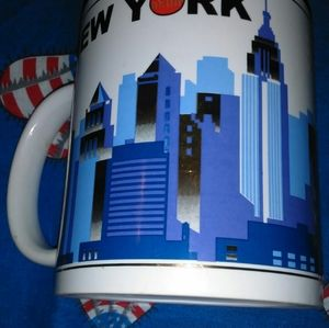 VINTAGE TORKIA INTERNATIONAL NEW YORK MUG